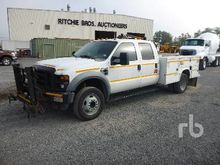 2008 Ford F550 Crew Cab Mechani