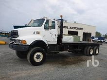 2001 Sterling 6x6 Flatbed Truck