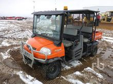 2012 Kubota RTV1140 4x4 Side By