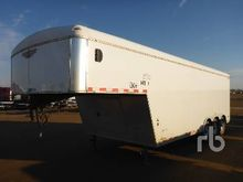 2012 H & H Trailers 28 Ft x 8 f