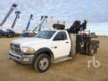 2011 Dodge 5500HD SLT 4x4 w/Hia