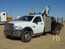 2011 Dodge 5500HD SLT 4x4 w/Cop
