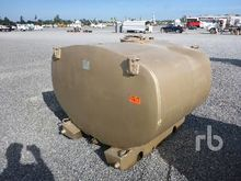 600 Gallon Skid Mounted Tank