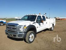 2005 Ford F450 Utility Truck