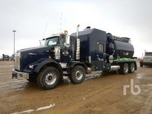 2012 Kenworth T800 T/A T/A Hydr