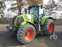 2010 claas axion 810cmatic MFWD