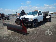 2011 Chevrolet 3500 4x4 Plow/Sa