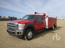2014 Ford F550 XLT Extended Cab