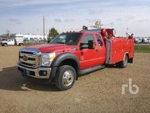 2012 Ford F550 XLT Extended Cab