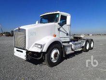 2009 kenworth t800b 6x4 Truck T