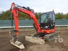 2013 jcb 8050RTS Midi Excavator