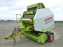 2002 Claas Variant 280RC Round
