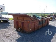 15 Ft Rolloff Box Container