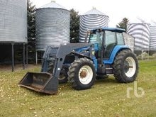 New Holland 8770 MFWD Tractor