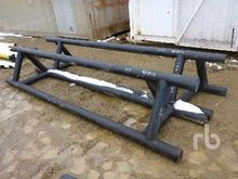 Qty Of 2 12 Ft Pipe Stand