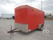 2002 12 ft 6 in x 6 Ft Enclosed
