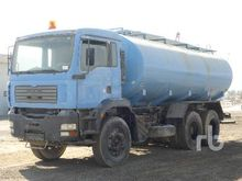 2004 Man 33.362 6x4 Water Truck