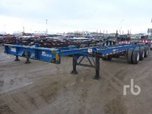 1988 m&m 40 Ft Container Chassi