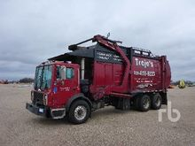 2002 Mack MR690S COE T/A Front