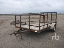 12 Ft S/A Utility Trailer
