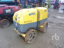 1989 Rammax Trench Compactor