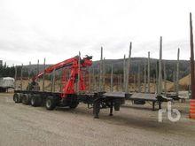 2001 Superior Tridem Pole Log T