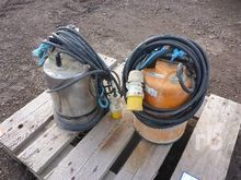 Quantity of 2 Submersible Pump