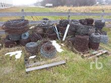 Quantity of Barbed Wire Fencing
