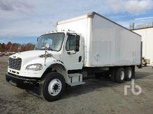 2007 Hino 268 S/A Van Truck