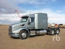 2010 Peterbilt 386 Day Cab Truc