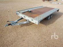 Car Trailer T/A Equipment Trail