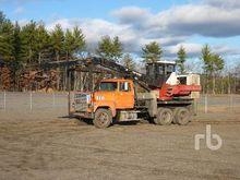1988 ford ltl9000 T/A Log Grapp