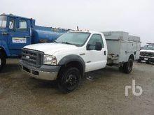 2005 ford f550 XL Utility Truck