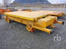 Flatbed Rail Cart Railroad Equi