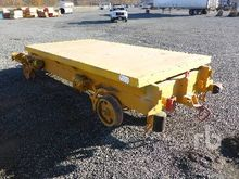 Flatbed Rail Cart Railroad Equi