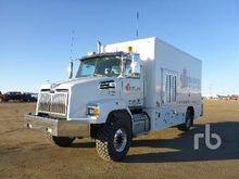2013 Hino 338 S/A Van Truck