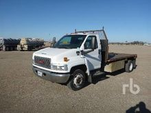 2003 gmc C5500 Flatbed Truck
