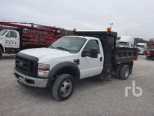 2004 Ford F450 Dump Truck (S/A)