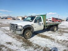 2002 ford f650 Used Flatbed Dum