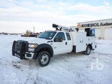 2015 Ford F550 Extended Cab 4x4