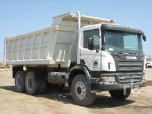 2008 Scania P380CB 6x4 Dump Tru