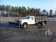 1989 Ford F350 Flatbed Truck