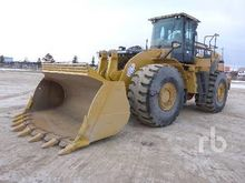 2012 Caterpillar 966K Wheel Loa