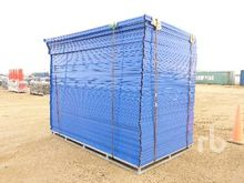 Qty Of 6 Ft x 10 Ft Site Fence