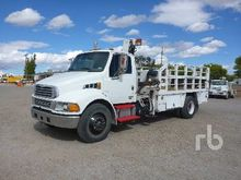 1992 International 4700 Flatbed
