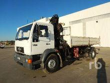 1998 Man L18.224 4x2 Dump Truck