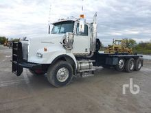 2008 kenworth c500b T/A Winch T