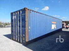40 Ft High Cube Shipping Contai