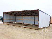 12 x 30 Ft Livestock Shelter