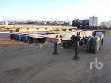 20 Ft x 8 Ft T/A Container Chas